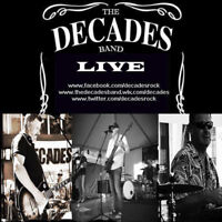 THE DECADES BAND - BOOKING 2018