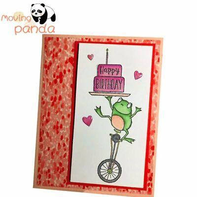 Happy Frog Metal Cutting Dies And Stamps Unicycle DIY Paper Craft Stencil Crown - Diy Paper Crown