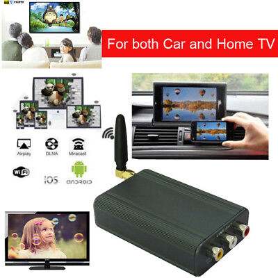 Car Wifi Mirabox Miracast DLNA Airplay Screen Mirroring for iPhone Android to TV