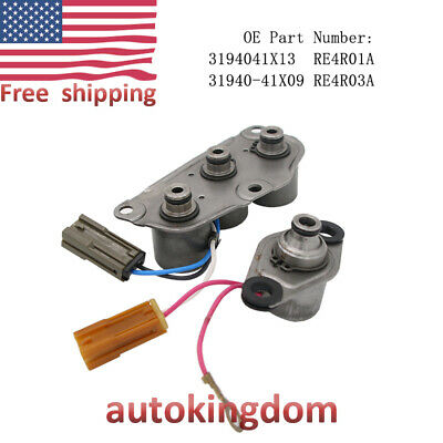 4F27E FN4A-EL  A /& B SHIFT SOLENOID KIT NEW OE QUALITY REPLACEMENT 1999-UP