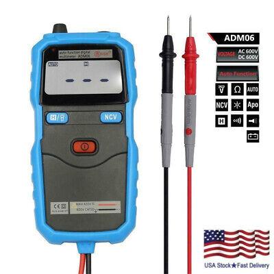 Adm06 Auto Range Portable Backlight Multimeter Acdc Voltmeter Non-contact 2020