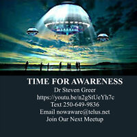 Join our Dr Steven Greer Meetup RSVP for your space now