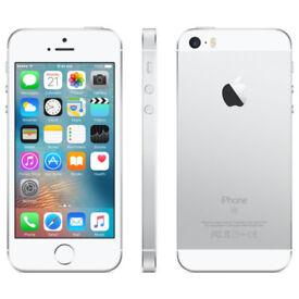 Apple iPhone SE 64gb Silver/White UNLOCKED