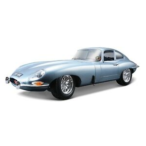 Bburago 1:18 Jaguar E Type Coupe Classic 1961 Collectable Diecast Model Car