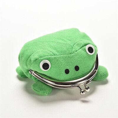 Uzumaki Naruto Frog Shape Cosplay Coin Purse Wallet Soft Furry Plush Gift Sh