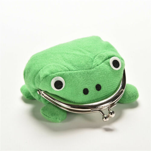 Uzumaki Naruto Frog Shape Cosplay Coin Purse Wallet Soft Furry Plush Gift VE