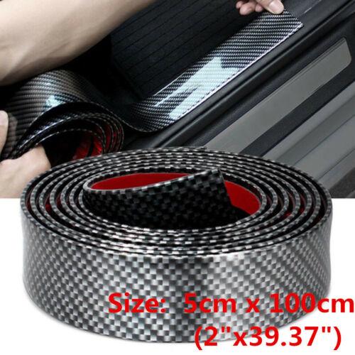Car Parts - Parts Accessories Car Carbon Fiber Door Sill Plate Cover Anti Scratch Stickers