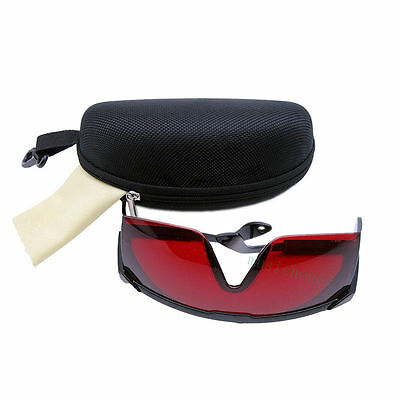 Laser Eye Protection Safety Glasses Goggles For Uv Lasers With Case 200-540nm