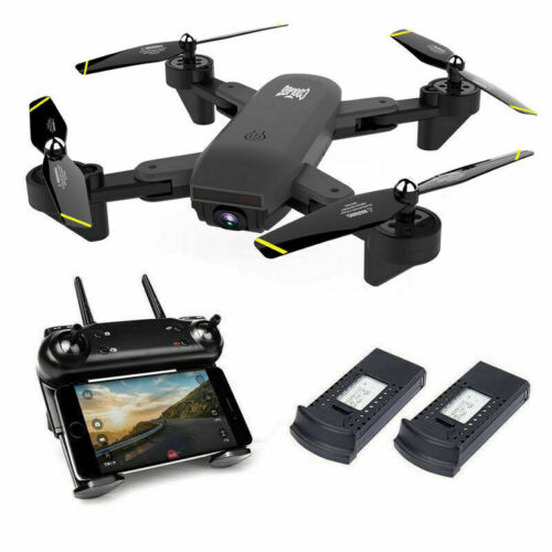 Cooligg S169 Quadcopter Drone With HD Camera Selfie 2MP WiFi FPV Foldable RC Toy
