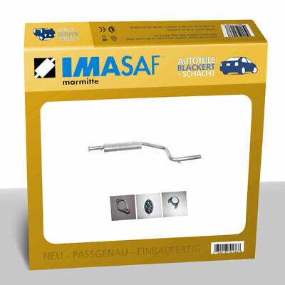 IMASAF Auspuff Mitteltopf für Ford Mondeo III Kombi (BWY) 1.8 16V