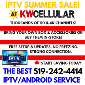 Iptv Live Channels | Kijiji in Kitchener / Waterloo  - Buy, Sell