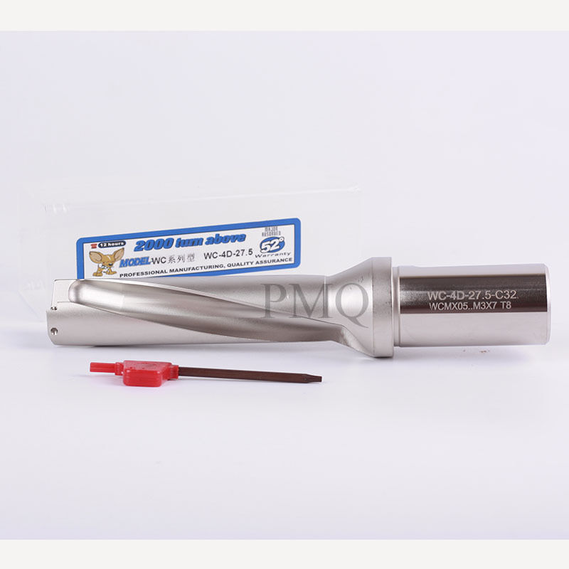 U-Drill Φ25-4D-C32 25mm-4D indexable drill bit C32-25-4D for wcmx050308 insert