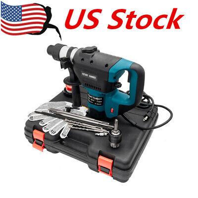 1-12 Sds Electric Rotary Hammer Drill 110v Concrete Tile Breaker Chisel Us