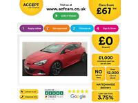 Vauxhall/Opel Astra GTC FROM £67 PER WEEK!