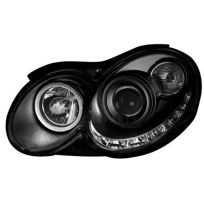 2x DAYLINE Scheinwerfer Mercedes Benz CLK C209 A209 Tagfahrlicht Optik LED LU9