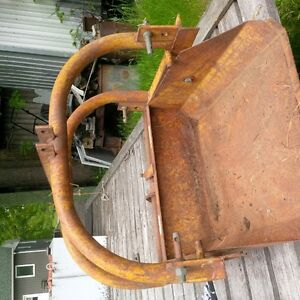 three point hitch tractor scoope two available