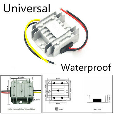 Universal Car 5-32v To 12v 3a Dc Power Voltage Regulator Stabilizer Converter