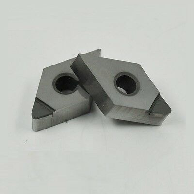 2pc Pcd Insert Dnmg150402 Polycrystalline Diamond Pcd-tipped 1-edge Dnmg430.5