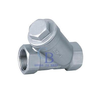 1 Dn25 Bsp 304 Stainless Steel Strainer Booster Pump Inline Y Filter