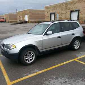 2003 BMW X3 2.5i leather loaded AWD