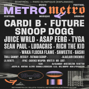 One day pass metro metro festival may 18-19