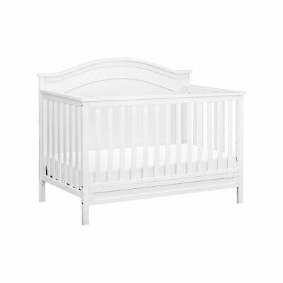 DaVinci Charlie 4-in-1 Convertible Crib in White