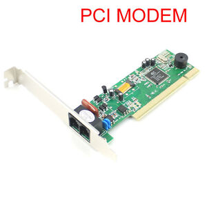 PCI-56K-Data-V-92-V-90-Dial-Up-Fax-Voice-Modem-for-XP-Vista-Win7-8-32-64-bit