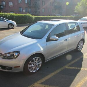 2013 VW Golf Highline Wolfsburg Edition RARE!