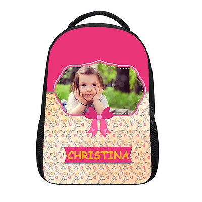 Kids Personalized Your Backpack School Bag Toddler Girls Put Image W/ Any Name