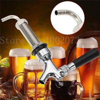 Draft Beer Faucet With 92.5mm Long Shank Combo Kit Tap For Kegerator Dispenser