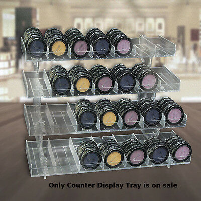 Count Of 2 New Retails Four-tier 28-compartment Modular Counter Display Tray