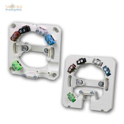 Herdanschlussdose 5x2,5mm², weiß, aufputz oder unterputz Geräteanschluss Dose