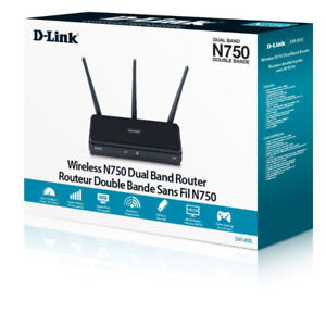 D-Link Wireless N750 Dual Band Gigabit Router