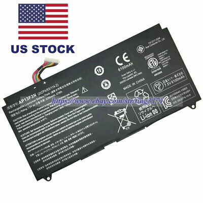 AP13F3N 47Wh Genuine Battery For Acer Aspire S7-391-6822 S7-392 2ICP4/63/114-2