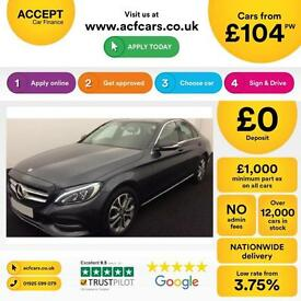 Mercedes-Benz C220 FROM £103 PER WEEK!