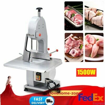110v Commercial Electric Bone Sawing Machine Frozen Meat Fish Cutting Machine