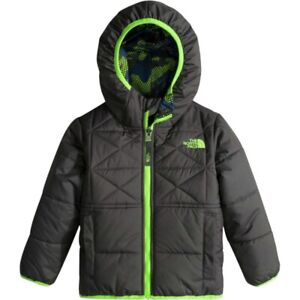 North face boys 2t reversible winter jacket