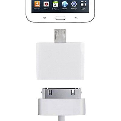 Micro USB Adapter auf Apple 30 Pin für alle Smartphone und Tablet Micro USB