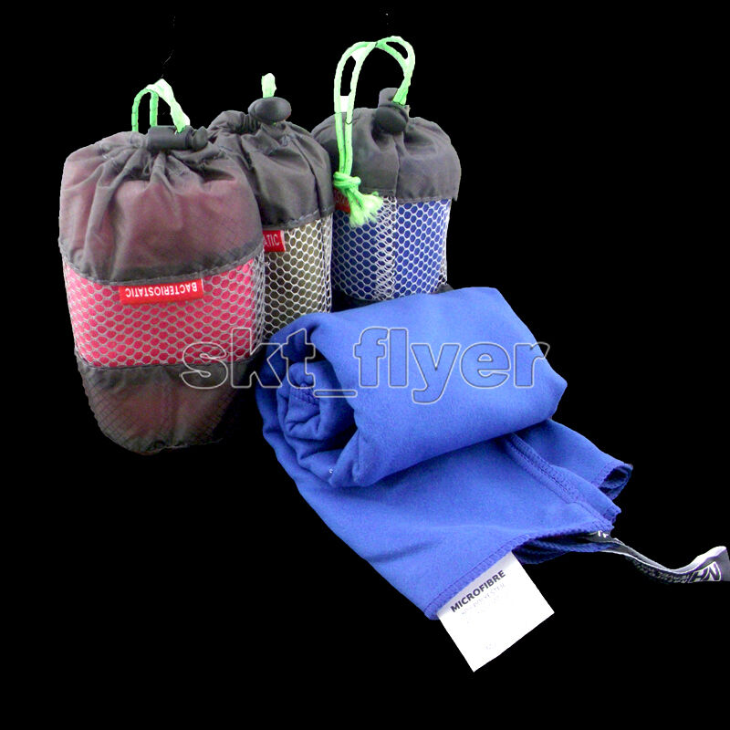 Outdoor Travel Camping Microfiber Quick Dry Towel Shower Spo