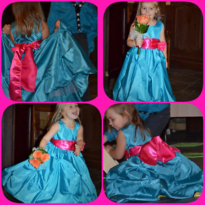 Robe fillette 3-4ans