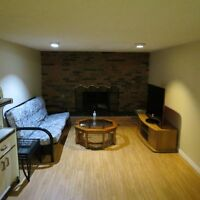 Nice furnished main floor BR for rent in NW everything included