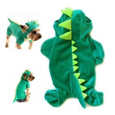 Hund Welpe Drache Dinosaurier Kostüm (Hund Dinosaurier Kostüme)
