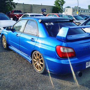 2002 wrx with full sti body swap