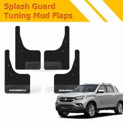 4EA Mud Flaps Splash Guards Front//Rear set Hyundai  SantaFE  DM //// 2012~2015