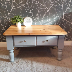 Beautiful Solid wood coffee table - £55. Free delivery to S'mcr