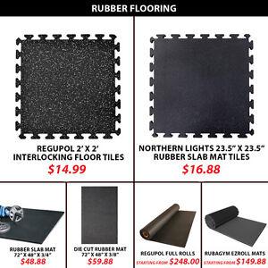 Fitness Equipment Floor Mat EZ Roll Full RubaGym Mats Cut Cross