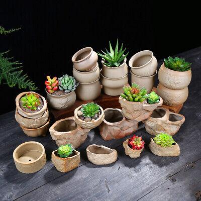Ceramic Flower Pots Plant Succulent Planter MIni Bonsai Holder Home Garden