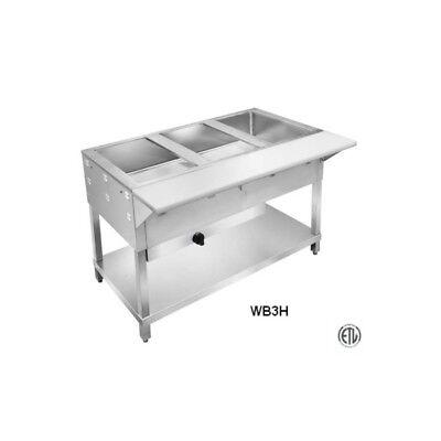 4 Well Commercial Restaurant Wet Lp Steam Table