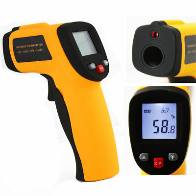 Temperature Gun Non Contact Infrared Ir Laser Digital Thermometer -58 1022 F