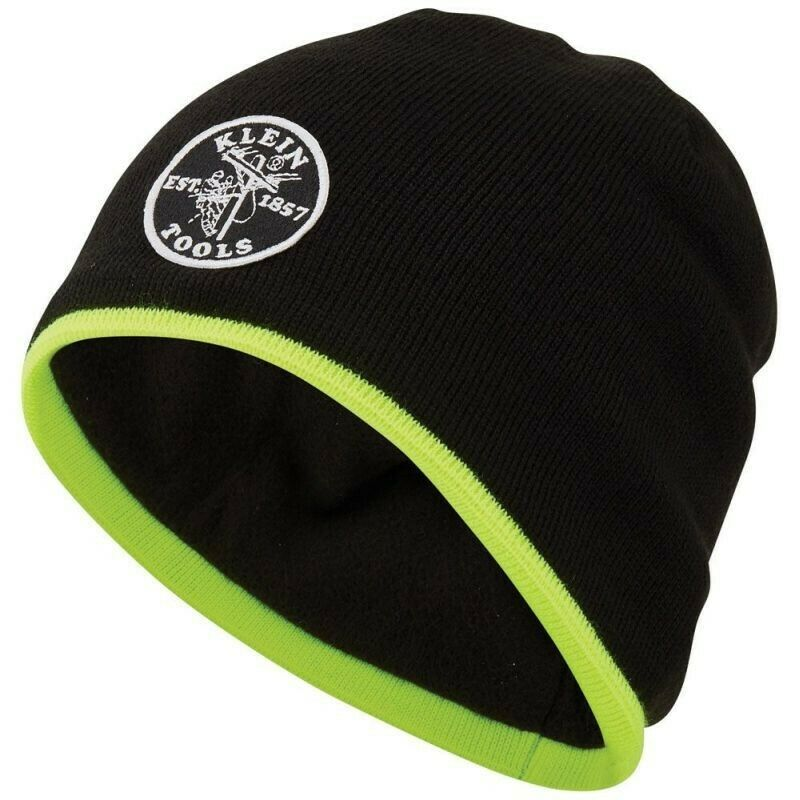 Klein Tool Tradesman Pro Knit Winter Beanie with Fleece Lining